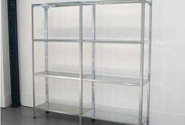 Estanterías metalicas para garajes, trasteros, almacenes,