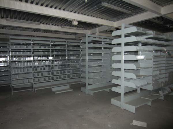Estantería metálica para talleres estanterías de ocasión estantería góndola para recambios