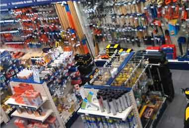 estanterías para tiendas