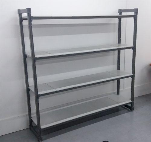 Estantería cámara frigorífica para hostelería gris