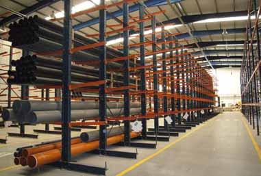 Estanterias Cantilever metalicas industriales