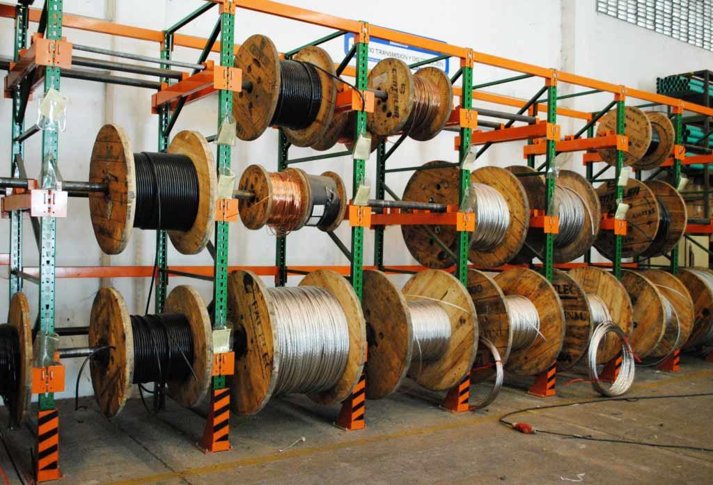 Estanterias para almacenar bobinas estanterías de ocasión